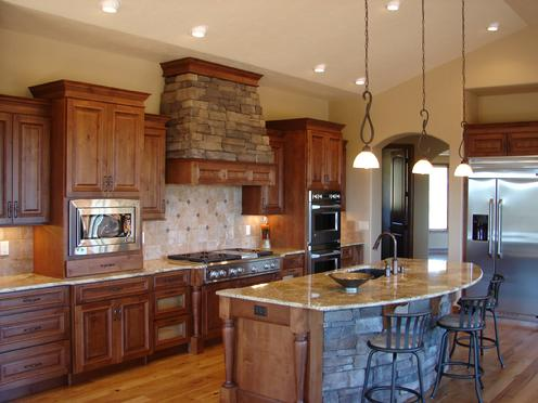 Classic Kitchen Design In Monument Colorado Peterson Construction Llc Castle Kitchens And